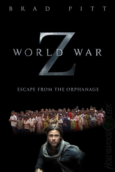 World War Z film afişi