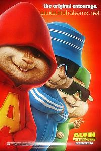 Alvin and the Chipmunks (Alvin ve Sincaplar) [2007] film afişi